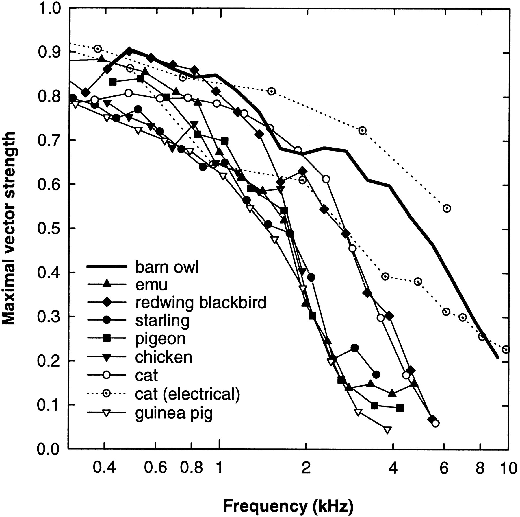 phase locking to high frequencies in the auditory nerve and cochlear 480 3 Phase Voltage download figure