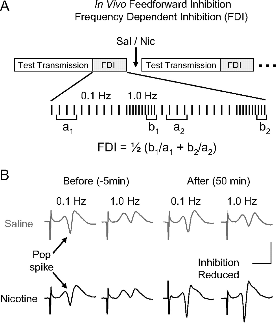 Addictive Nicotine Alters Local Circuit Inhibition During The Frequencydependent Circuits Download Figure
