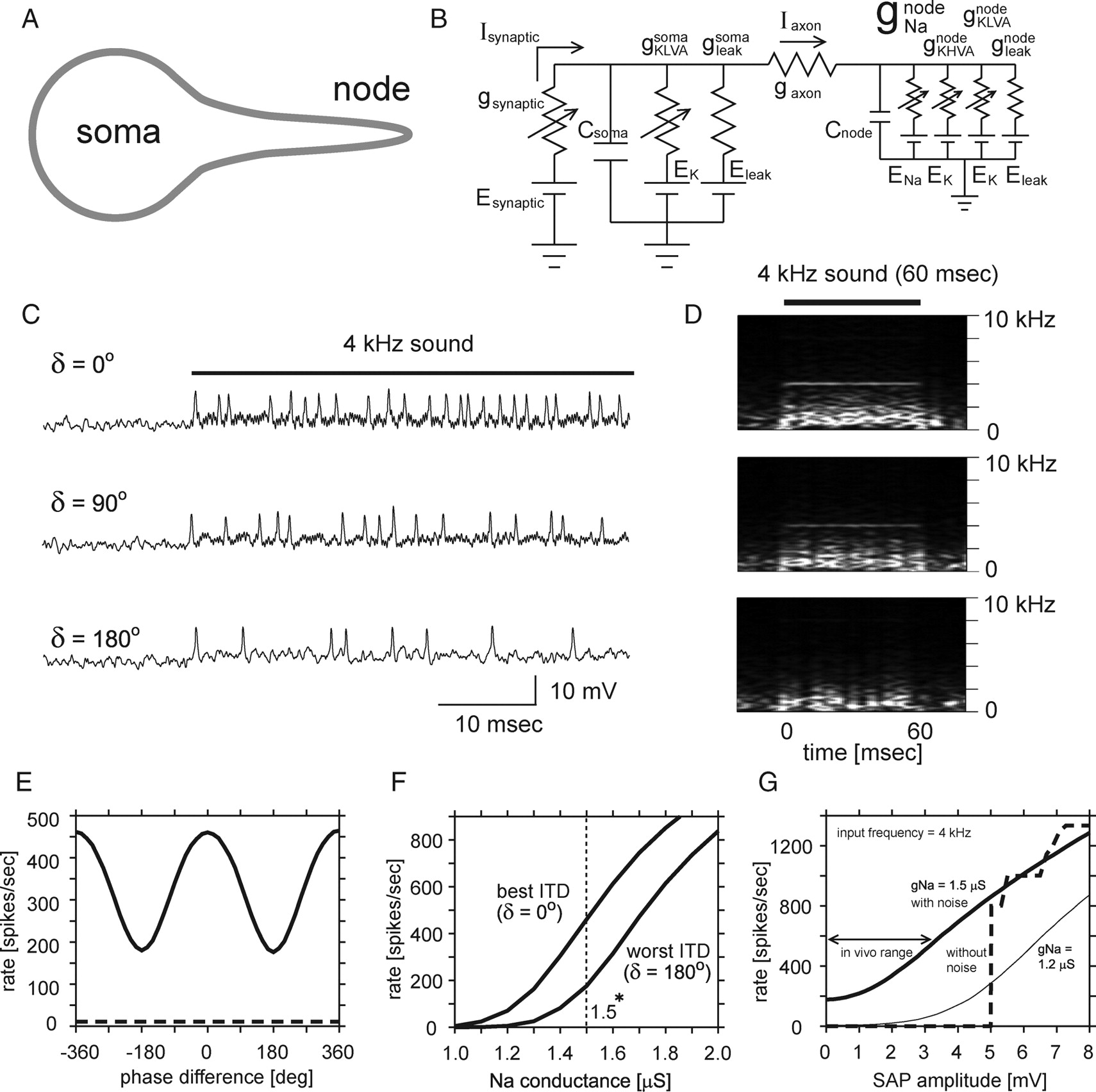 Computation Of Interaural Time Difference In The Owls Coincidence Threephase Bridge Rectifier Pop Ntype Filter Circuit Is Shown As Download Figure Open New Tab