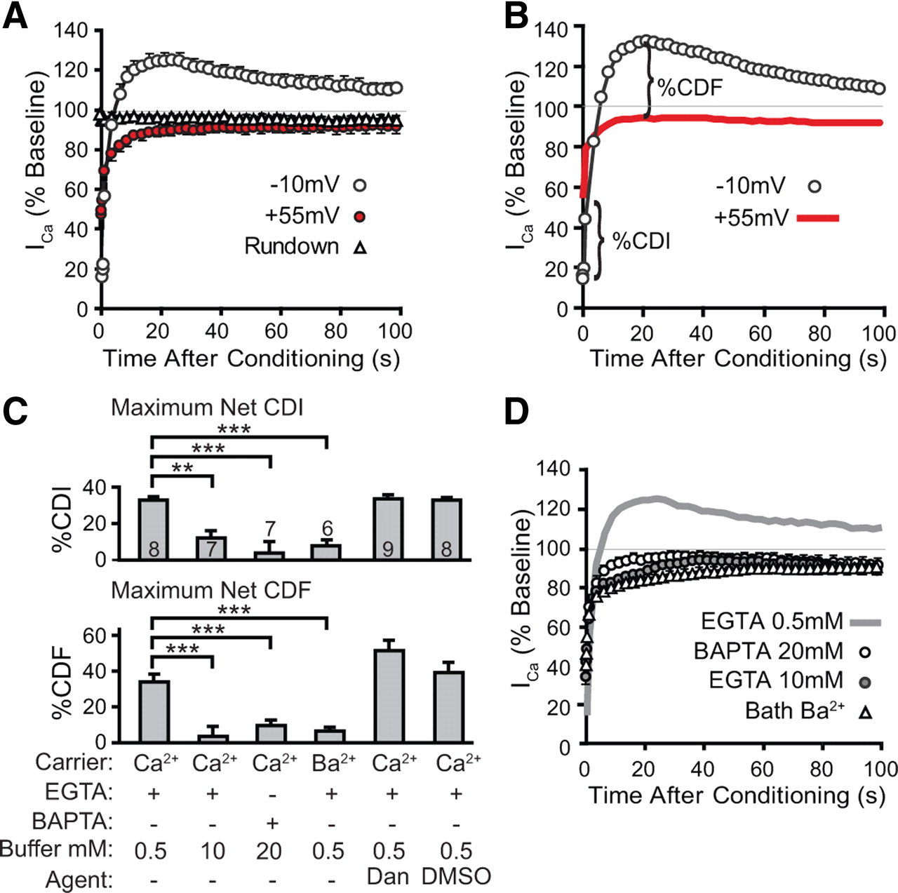 Ca2+-Dependent Regulation of Ca2+ Currents in Rat Primary Afferent