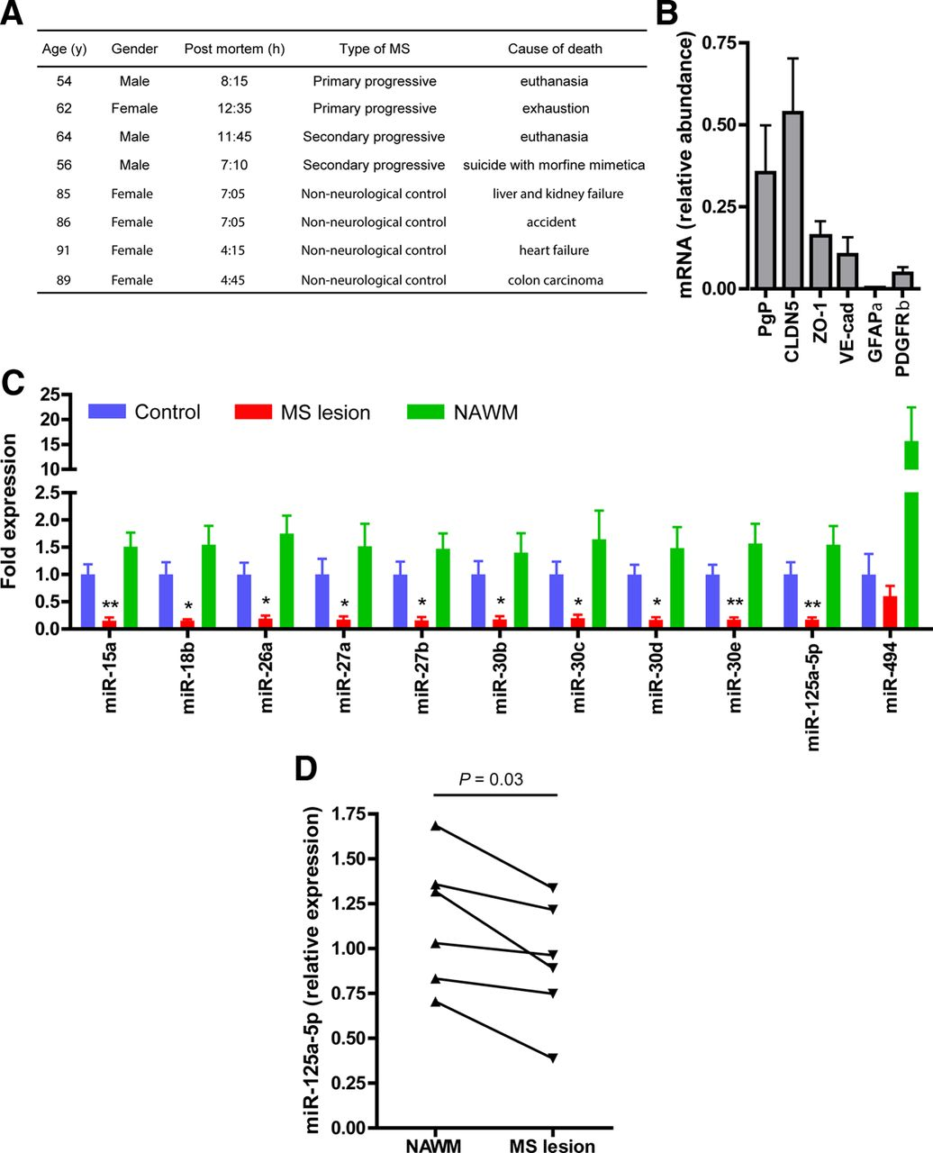 MicroRNAs Regulate Human Brain Endothelial Cell-Barrier Function in