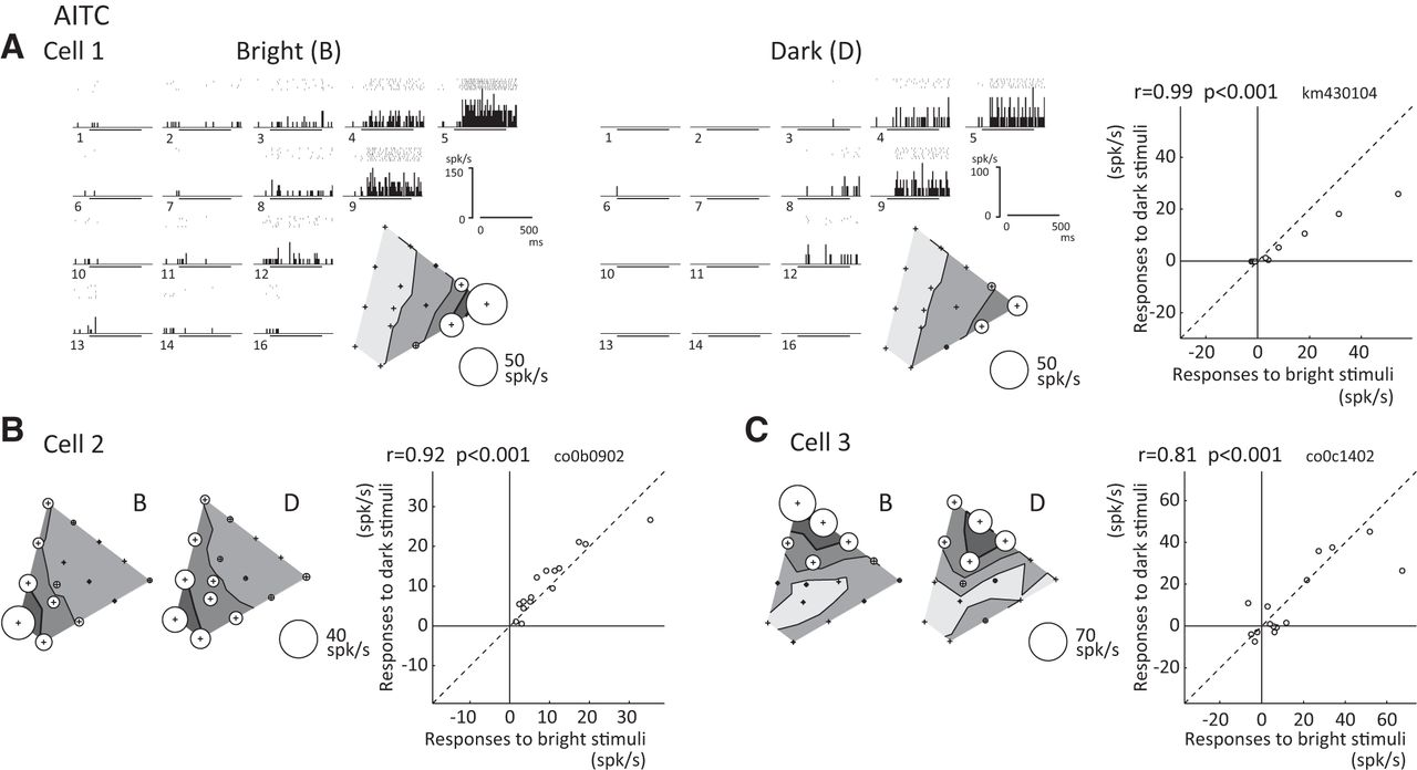Effects of luminance contrast on the color selectivity of neurons in download figure ccuart