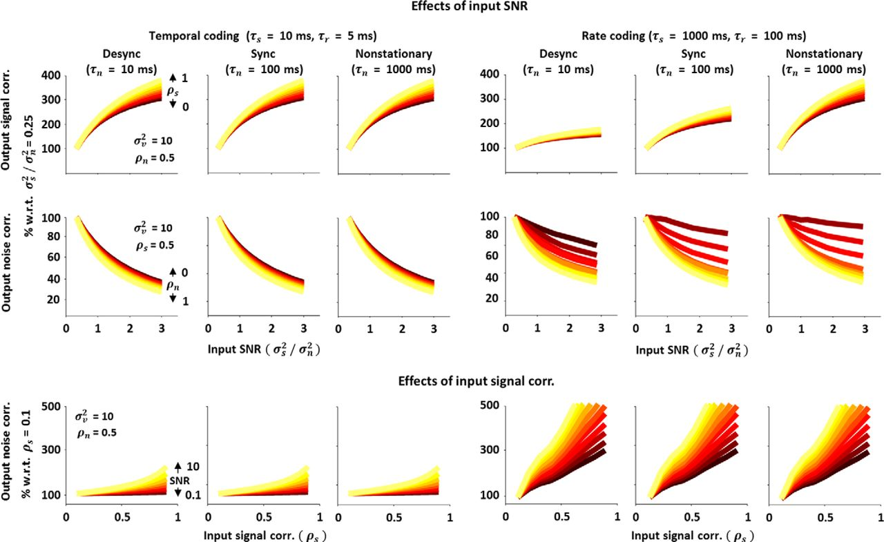 Nonlinear Transfer of Signal and Noise Correlations in