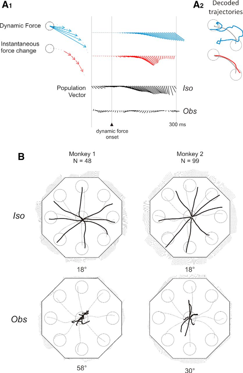 Posterior Parietal Cortex Encoding Of Dynamic Hand Force Underlying Vector Diagrams Download Figure
