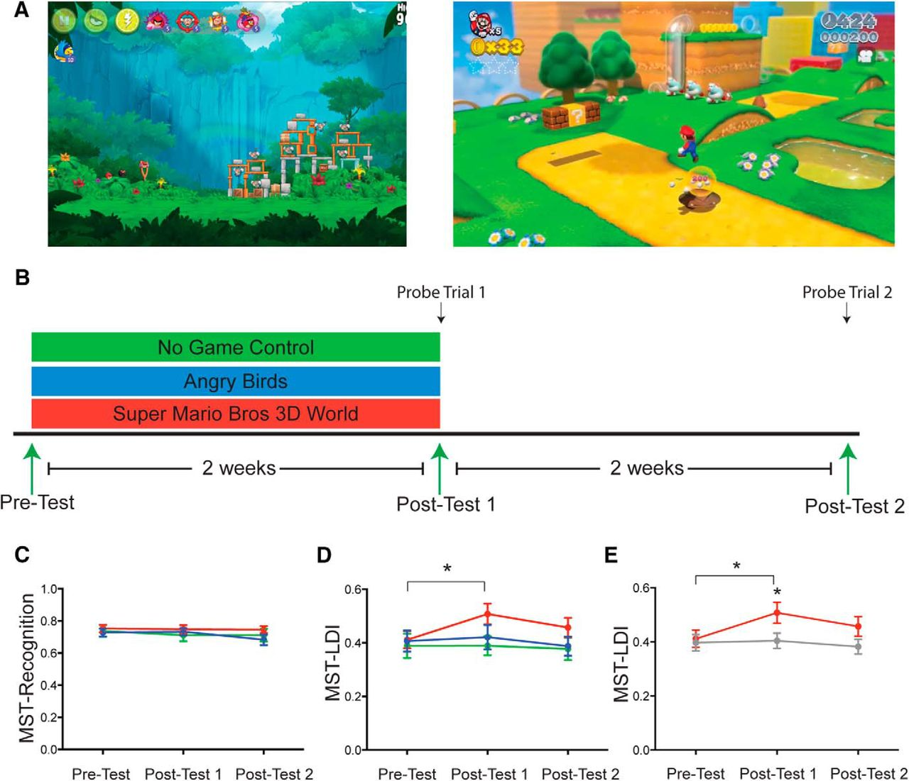 Virtual Environmental Enrichment through Video Games