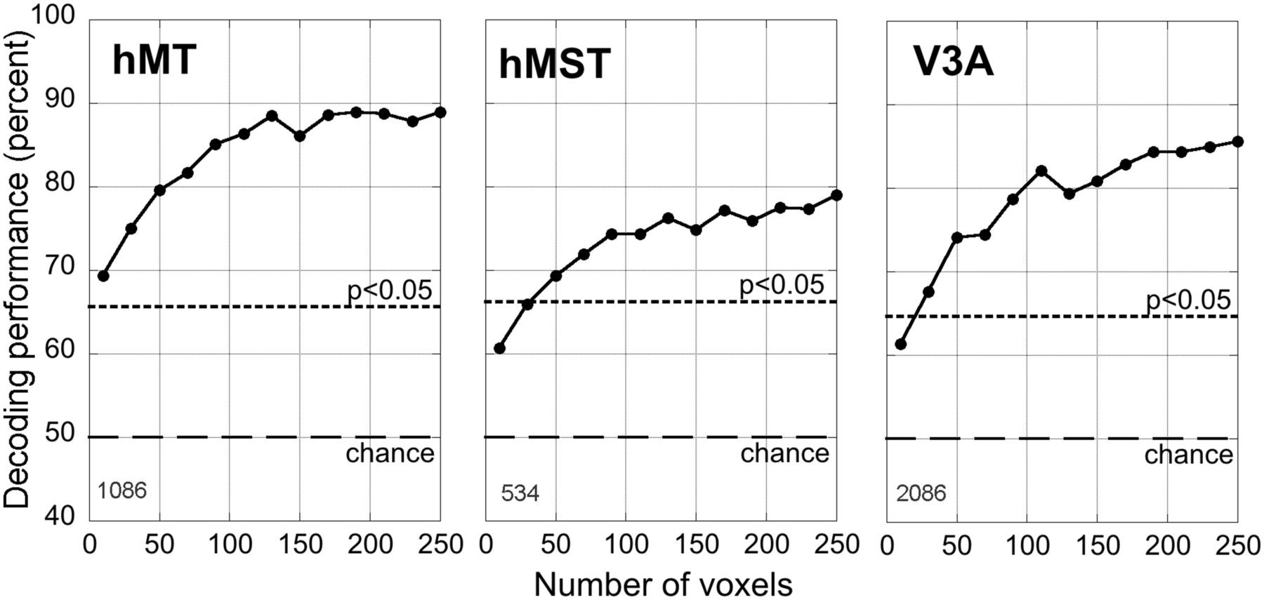 Global Motion Processing in Human Visual Cortical Areas V2 and V3 ...
