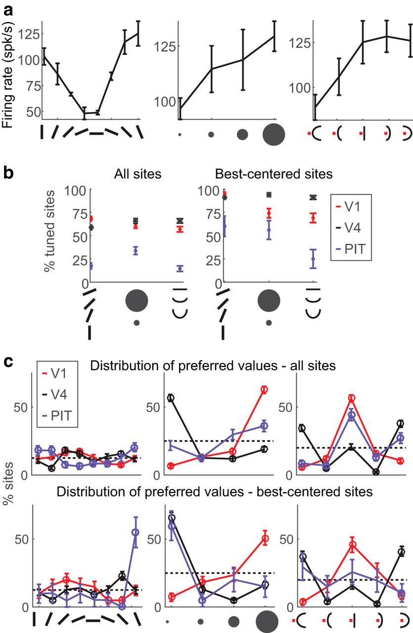 End-Stopping Predicts Curvature Tuning along the Ventral