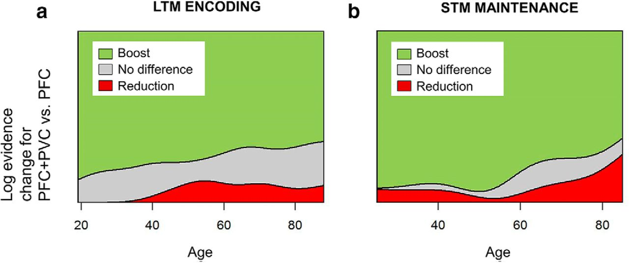 Increased Prefrontal Activity with Aging Reflects Nonspecific Neural