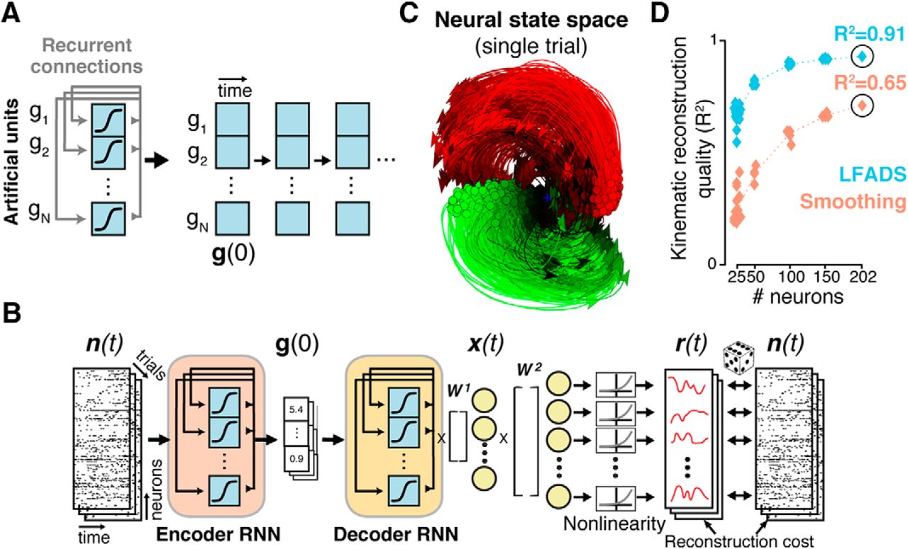 Latent Factors and Dynamics in Motor Cortex and Their