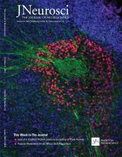 The Journal of Neuroscience: 35 (42)
