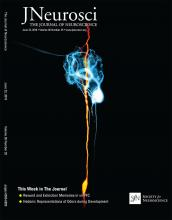 The Journal of Neuroscience: 36 (25)