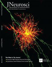 The Journal of Neuroscience: 36 (27)