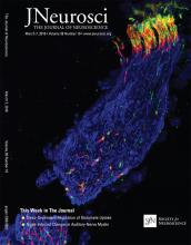 The Journal of Neuroscience: 38 (10)
