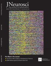 The Journal of Neuroscience: 38 (21)