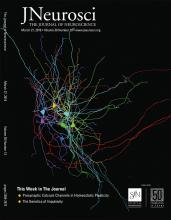 The Journal of Neuroscience: 39 (13)