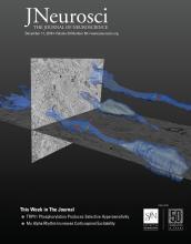The Journal of Neuroscience: 39 (50)